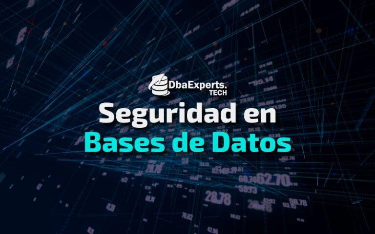 Bases de Datos: ¿Cómo protegerlas?