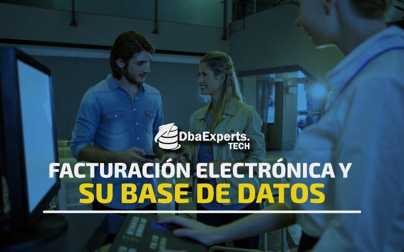 Facturación electrónica y su base de datos