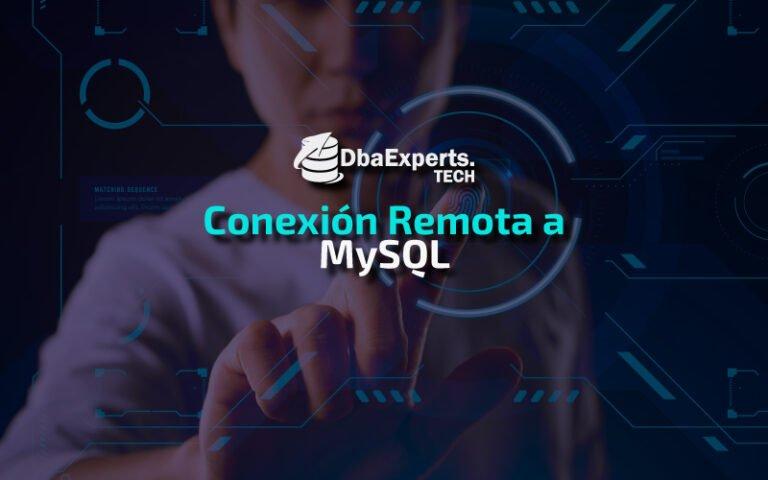Conectar una BD MySQL de forma remota